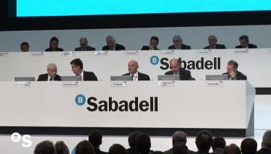 Junta de Accionistas de Banco Sabadell 2012
