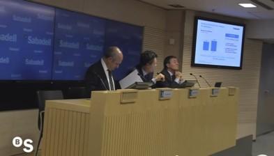 Presentación de resultados del tercer trimestre de 2012
