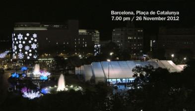 Bargelona. Flashmob