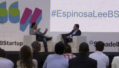 Dídac Lee and Pedro Espinosa in 'Conversaciones de Futuro'