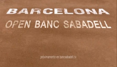 Trailer of the promotional video of the Open Banc Sabadell
