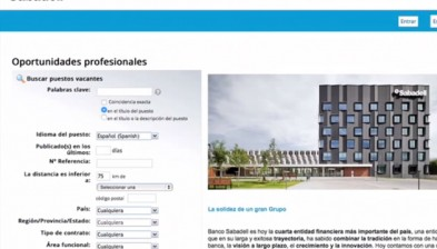 Banco Sabadell job portal