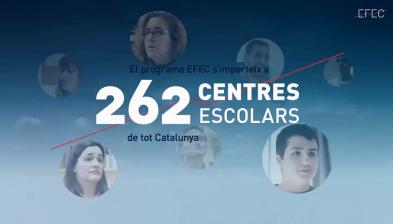 Programa EFEC a les escoles 2014/2015 a les escoles de Catalunya