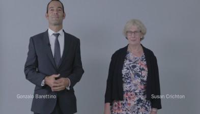 Encuentro de directivos BS–TSB, Gonzalo Barettino-Susan Crichton