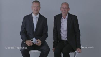 Encuentro de directivos BS–TSB, Manuel Tresánchez-Peter Navin