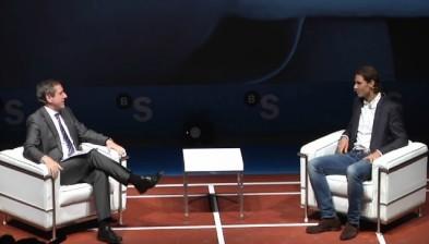 Nous Temps amb Rafa Nadal: ''Clar que vull jugar els Jocs Olímpics''
