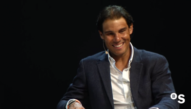 Interview between Rafa Nadal and Ramon Rovira, head of Communication of Banco Sabadell