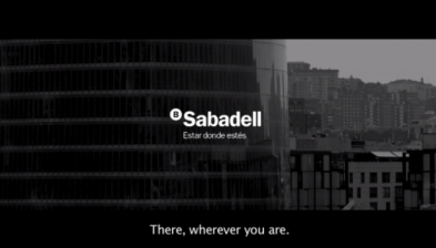 Banco Sabadell. There, wherever you are.