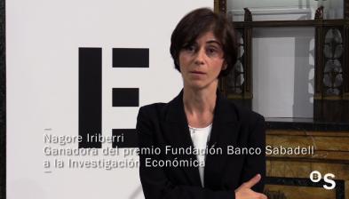 Entrevista a Nagore Iriberri, guanyadora del XV Premi Fundació Banc Sabadell a la Investigació Econòmica