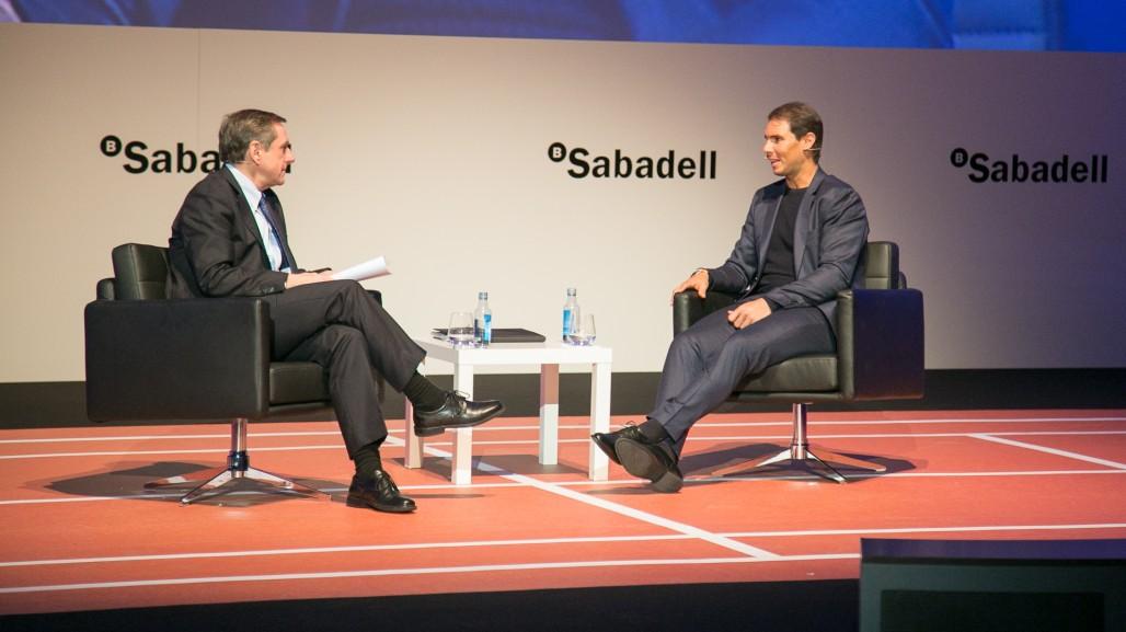 Entrevista a Rafa Nadal en Galicia. Más Respuestas Inmediatas