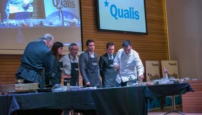 El xef Ramon Freixa ens acompanya en el lliurament dels Premis Qualis