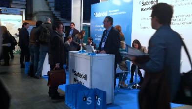 Banc Sabadell i BStartup al Salón MiEmpresa 2017
