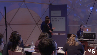 'How to apply the design process to create new products and services' a #4YFN