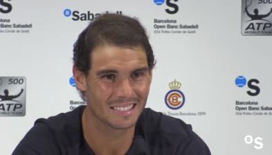 """Rafa Nadal: """"Ha sigut un dia únic per mi"""" Barcelona Open Banc Sabadell 2017"""