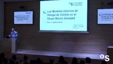 Formació Financera: Els Models Interns de Risc de Crèdit en el Grup Banc Sabadell