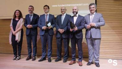 Lliurament dels Premis Fundació Banc Sabadell 2017 a la Investigació Biomèdica i les Ciències i Enginyeria