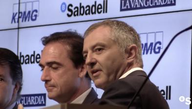 'Marca: valor, fortalesa i oportunitat' Diàlegs de Futur KPMG/Banc Sabadell amb La Vanguardia