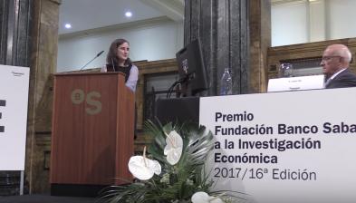 Mar Reguant, guanyadora del XVI Premi Fundació Banc Sabadell a la Investigació Econòmica