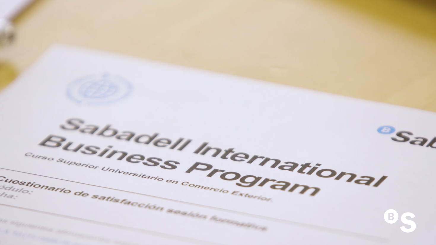 Sabadell  International  Business  Program