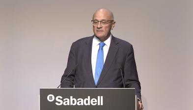 Discurs final del president Josep Oliu.RAD2017