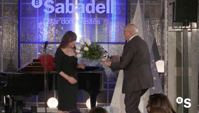 Luz Casal en concierto para Banco Sabadell