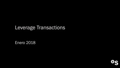 Aula Virtual - Leverage Transactions
