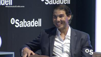 Resum entrevista a Rafa Nadal a Alacant. Sensacions, reptes i claus per 2018
