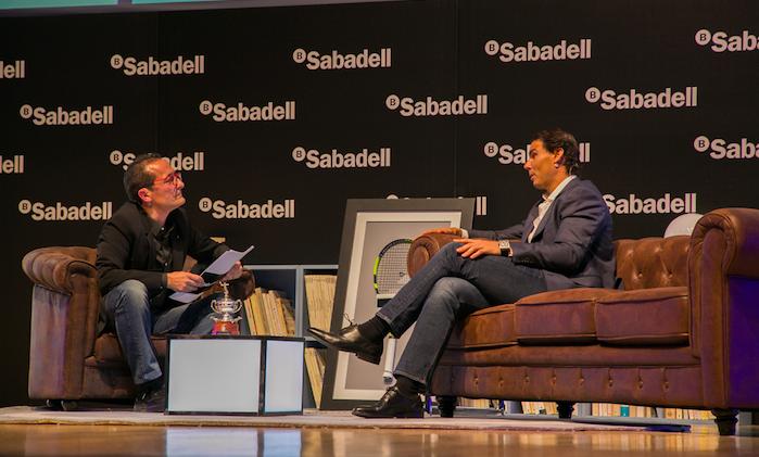 Entrevista a Rafa Nadal en Alicante. Sensaciones, retos y las claves para 2018