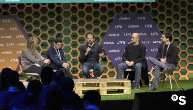 How a corporate supports exponential tech startups. BStartup at 4YFN 2018