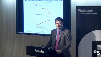 Innovación en la medicina cardiovascular, por el Dr. Borja Ibáñez. Sabadell Forum