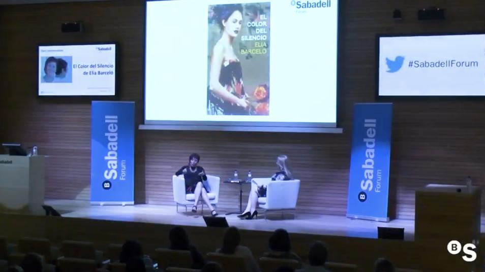 Sabadell Forum con la escritora Elia Barceló. Presentación de