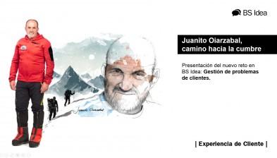 Presentación del Reto BS Idea 2018, con Juanito Oiarzabal