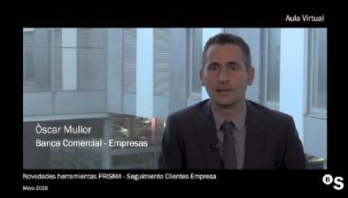 Aula Virtual – Novedades herramientas PRISMA – Seguimiento Clientes Empresa