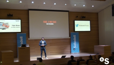 El fenomen de les 'fake news', amb Marc Amorós. Sabadell Forum