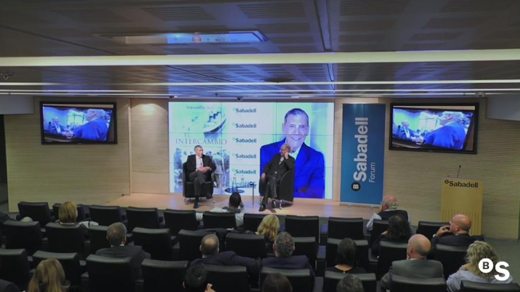 Una conversación con Fernando Aleu. Sabadell Forum