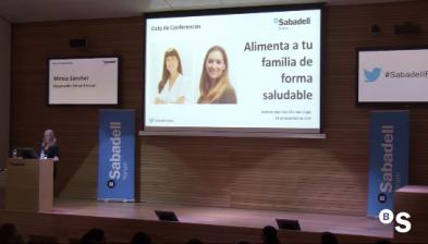 Sabadell Forum. Alimenta a tu familia de forma saludable.
