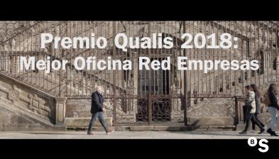 Premio Qualis 2018. Mejor oficina Red Empresas: Santiago de Compostela