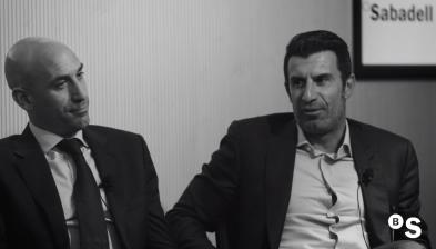 Los valores del deporte y de una organización, con Luis Figo, Luis Rubiales y Alejandro Blanco
