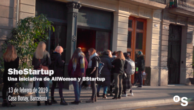 She Startup: talent femení en el sector tecnològic. BStartup i All Women