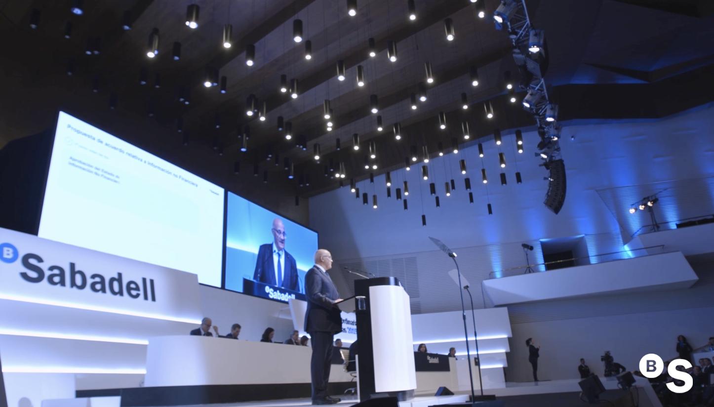 Junta General de Accionistas 2019 de Banco Sabadell. Resumen
