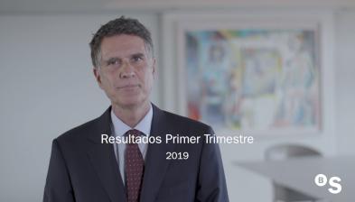 Resultados 1T 2019 de Banco Sabadell. Jaime Guardiola, CEO