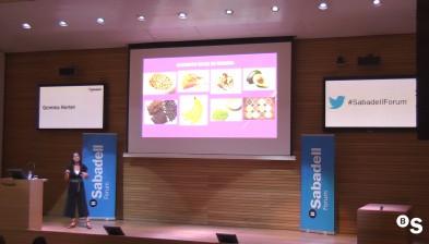 Comer bien para vivir mejor, con Gemma Hortet. Sabadell Forum