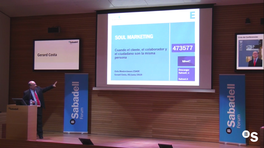 Soul marketing, con Gerard Costa. Sabadell Forum