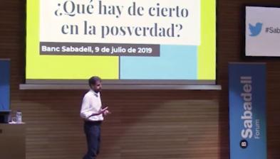 Què hi ha de cert en la posverdad? Amb Miquel Urmeneta. Sabadell Forum