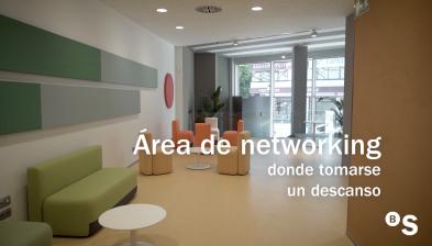 Sala de Coworking. HUB Empresa de València