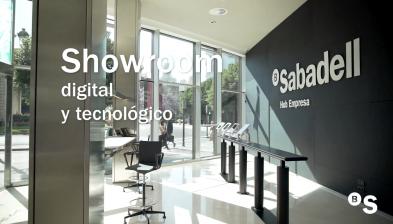 Showroom y Lobby del Hub Empresa de Valencia