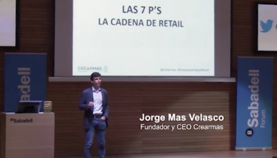 Les 7 P's de la cadena del retail, amb Jorge Mas. Sabadell Forum