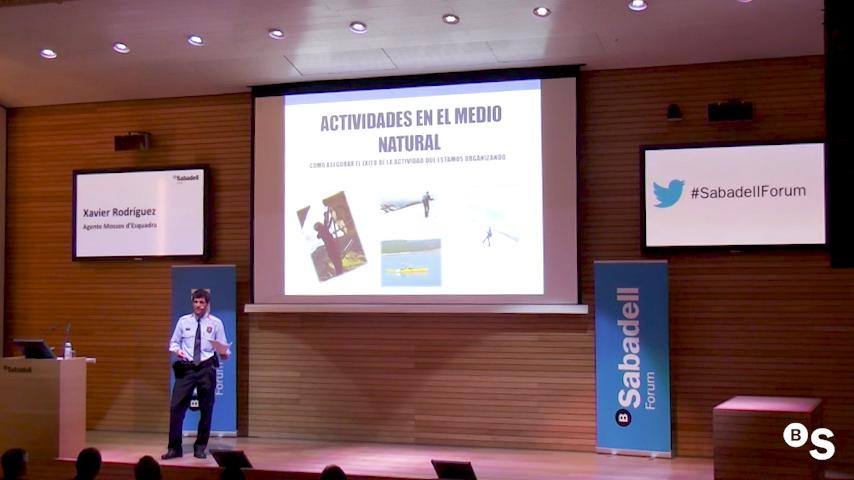 Seguridad en espacios naturales. Sabadell Forum