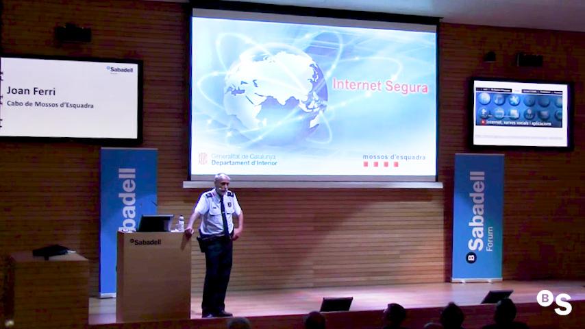 Seguridad e inseguridad online. Sabadell Forum