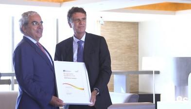 Lliurament del Segell d'Excel·lència EFQM a Banc Sabadell